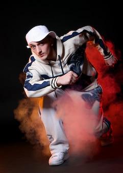 Hiphopdanser in dans