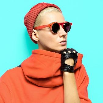 Hipster tomboy-stijl mode herfst kledingaccessoires
