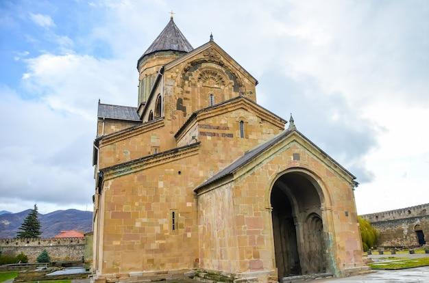 Historisch mtskheta bevindt zich in de buurt van tbilisi.