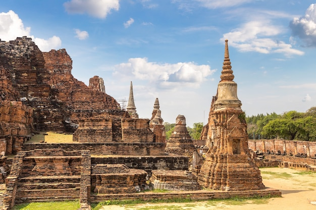 Historisch park ayutthaya in ayutthaya, thailand