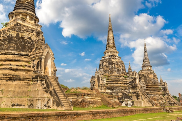 Historisch park ayutthaya, thailand