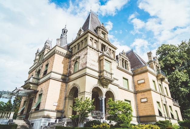 Historische het museumgeschiedenis van het huneggkasteel in zwitserland