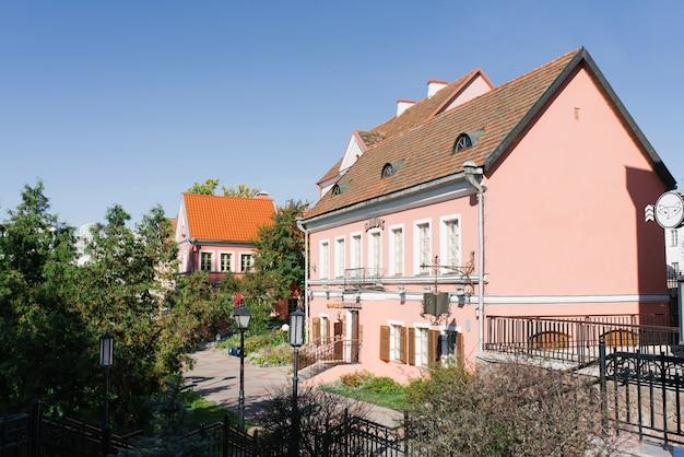 Historische huizen in trinity suburb