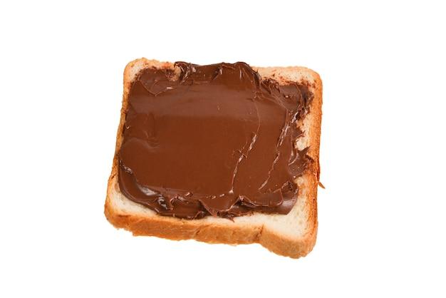 Ð¡hocolate plakken sandwich geïsoleerd op wit