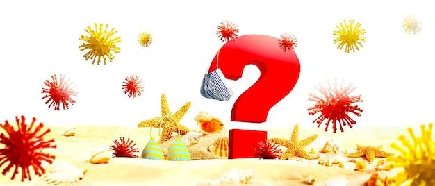 Hoe zit het met de vakantie bij een pandemie van het coronavirus?