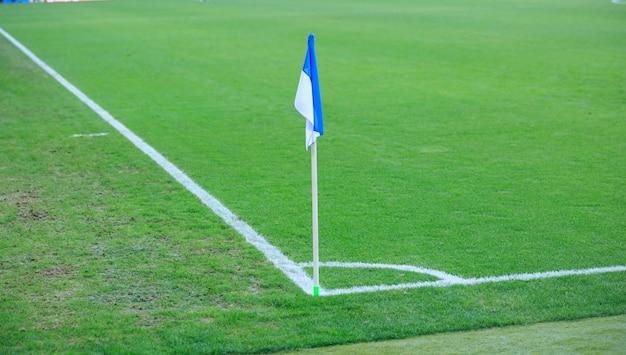 Hoekvlag in het rcde-stadion