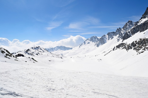 Hoge bergketen