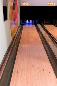 Hoge bowlingbaan