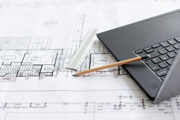 Hoge hoek architecturale hulpmiddelen