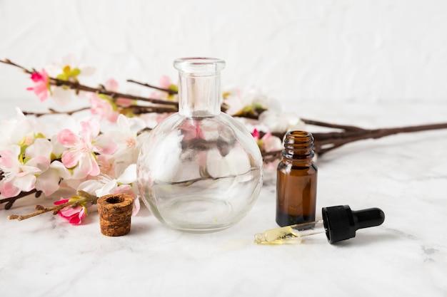 Hoge hoek aromatische lichaamsproducten