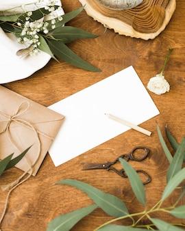 Hoge hoek bruiloft decoraties