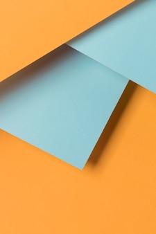 Hoge hoek kasten geometrische vorm