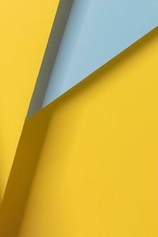 Hoge hoek kleurrijke kasten