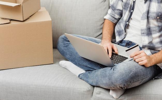 Hoge hoek man online bestellen