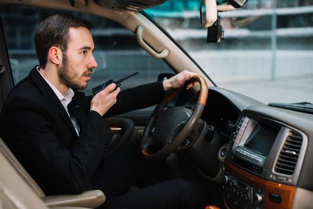 Hoge hoekbeveiliging rijden