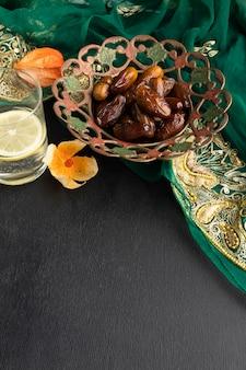 Hoge hoekdata en sari-arrangement
