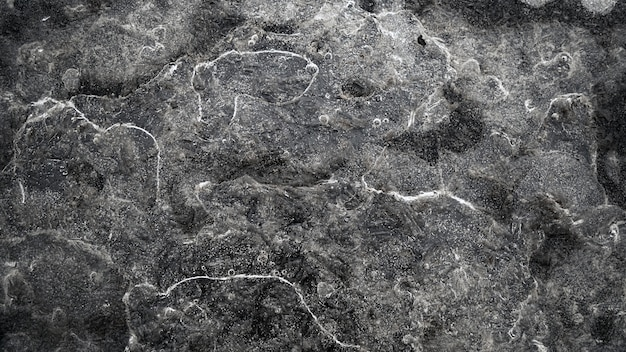 Hoge hoekmening van stenen bedekt met water achtergrond