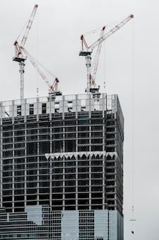 Hoge moderne kantoorgebouwen