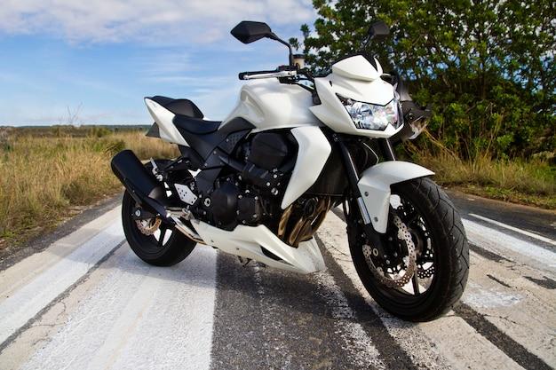 Hoge snelheid motorfiets