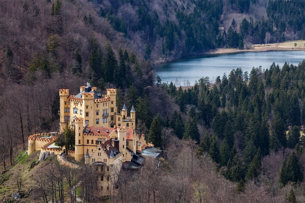 Hohenschwangau castle, duitsland