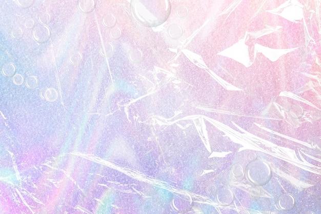 Holografische achtergrond kunststof oppervlaktetextuur gradiënt