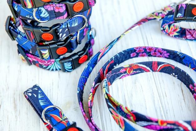 Hondenhalsband en riem set dierenbenodigdheden en wandeluitrusting collectie