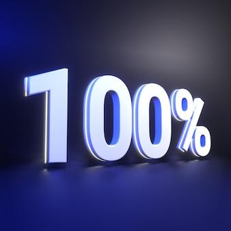 Honderd procent nummerweergave