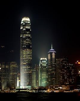 Hong kong bij nacht