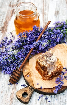 Honing en lavendel