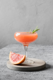 Honing rozemarijn grapefruit cocktail