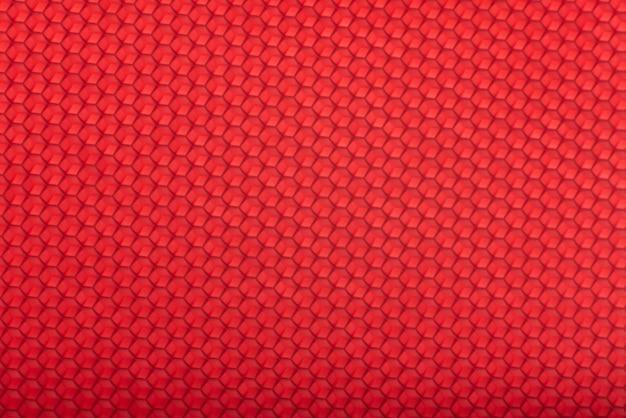 Honingraat textuur. rode geometrische abstracte achtergrond.