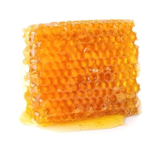 Honingraten op de witte achtergrond.