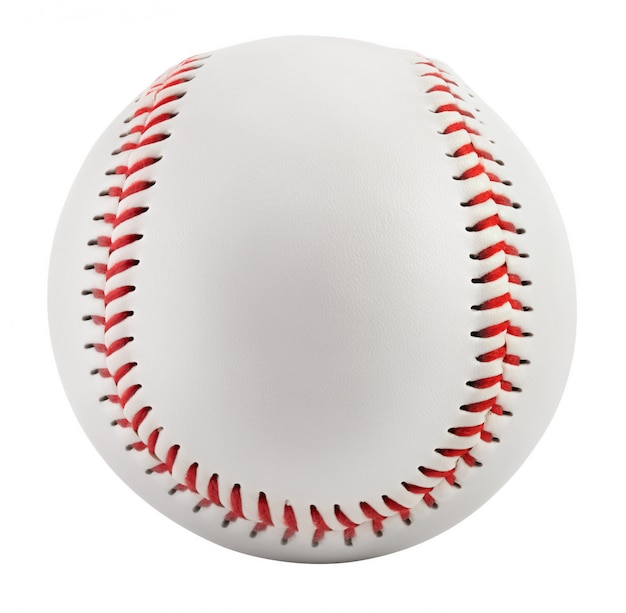 Honkbal bal geïsoleerd op wit