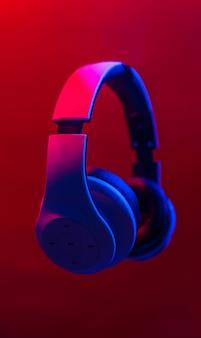 Hoofdtelefoon om naar muziek te luisteren.
