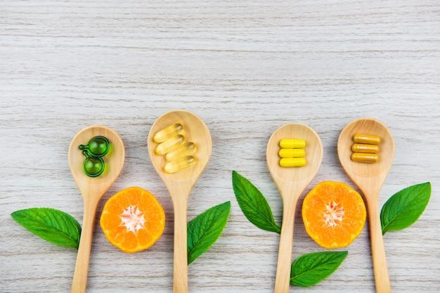 Hoogste mening van vitaminecapsule