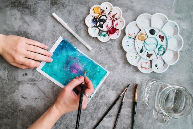 Hoogste meningssamenstelling met kunstconcept