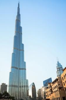Hoogste toren ter wereld. dubai.