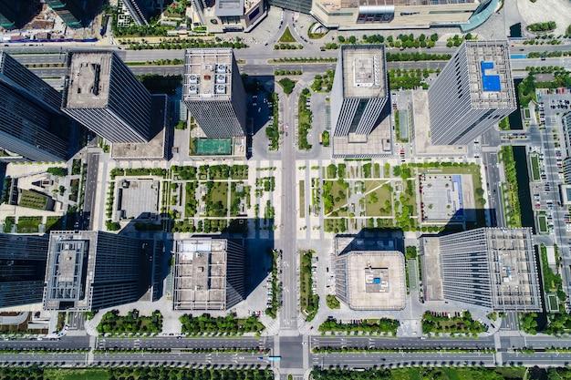 Hoogte stijgen condominium en kantoorgebouwen