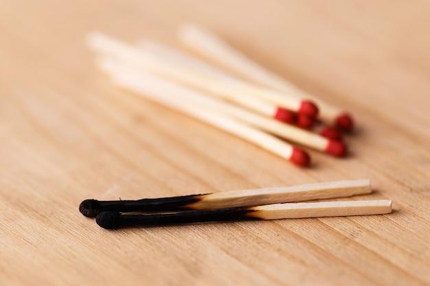 Hoop matchsticks