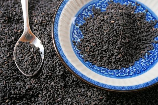 Hoop zwarte sesam