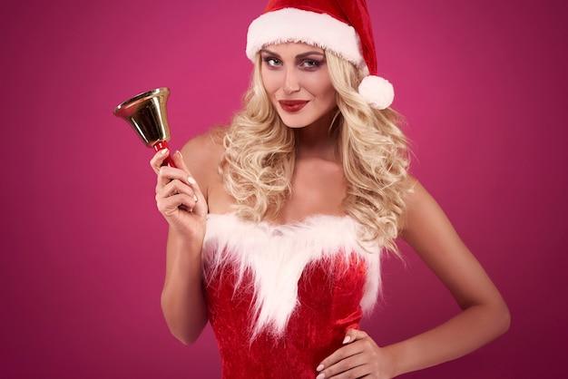 Hoor je het geluid van de kerstklokken?