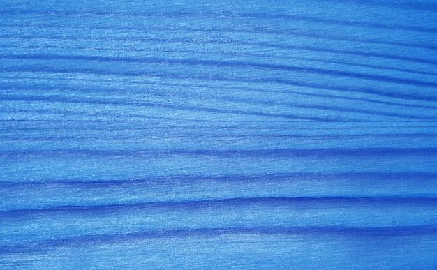 Horizontaal patroon van azuurblauw blauw kleurverloop gekleurd houten plankoppervlak