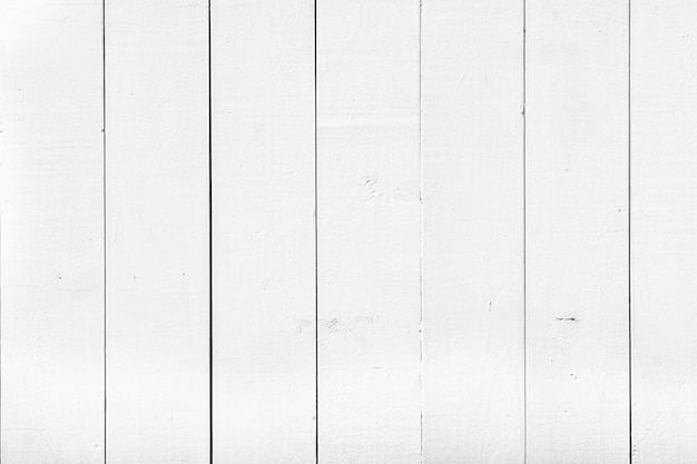 Horizontale achtergrond van oude stroken wit hout