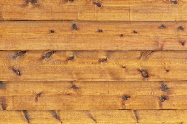 Horizontale achtergrond van rustieke en oude stroken natuurlijk hout