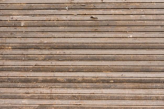 Horizontale houten lijnentextuur als achtergrond
