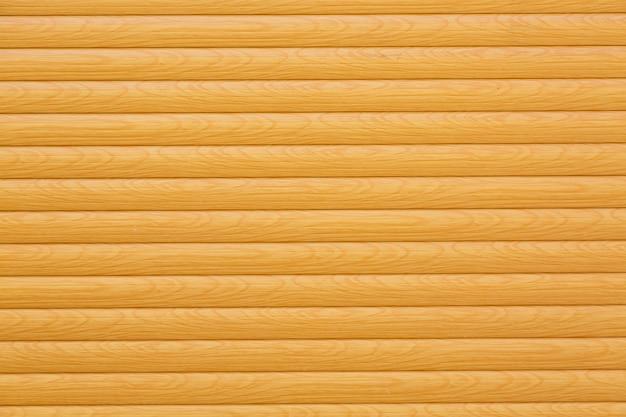 Horizontale houten planken geschilderd geel of beige als achtergrond