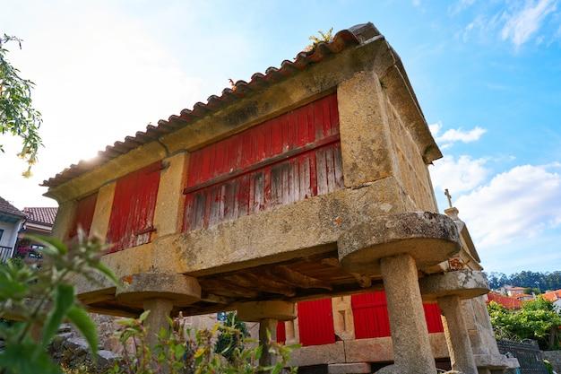 Horreo in combarro-dorp pontevedra galicië spanje