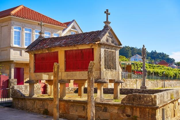 Horreo in combarro galicisch dorp pontevedra