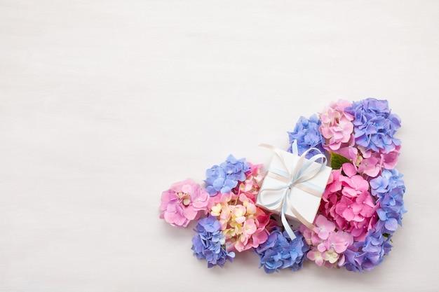 Hortensia bloemen