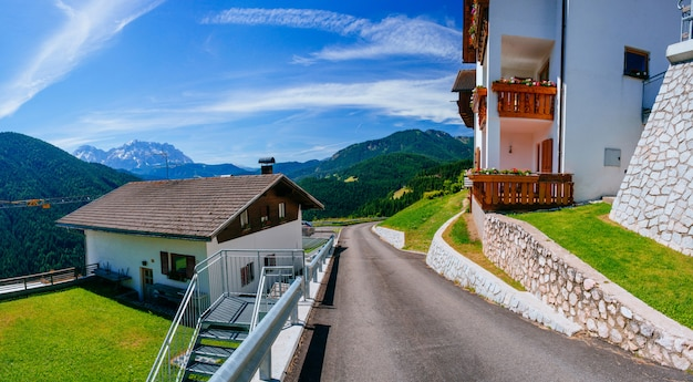 Hotel in de bergen